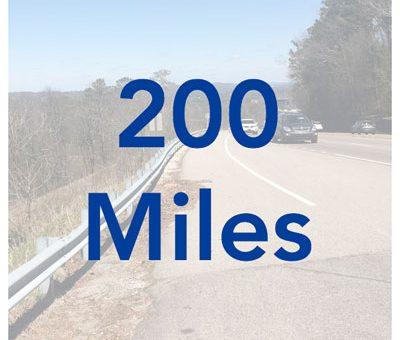 200 Mile Mark