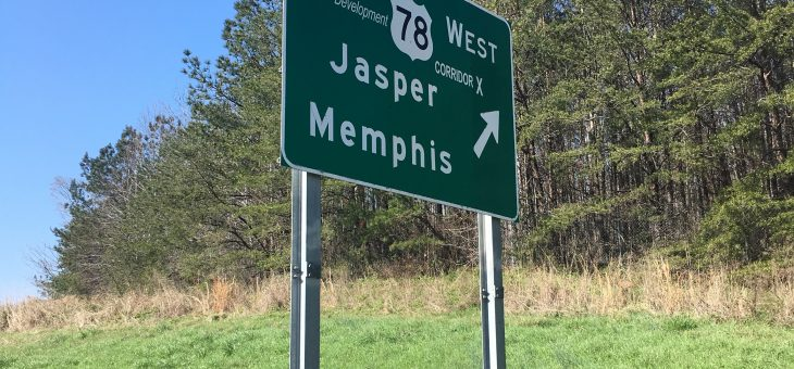 Mile Marker: First sign for Memphis