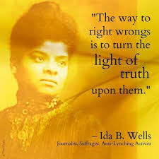 Remembering Ida B. Wells