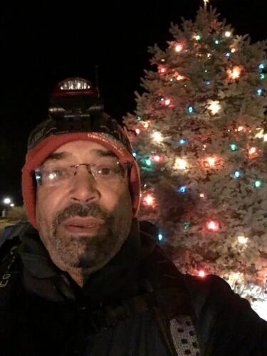 Christmas Eve, 2019 Beginning 20-mile night walk from Poplar Neck, replicating Harriet Tubman's 1854 rescue.